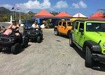 "4x4 Jeep ""Island Loop & Beach"" Safari : the Absolute Best of St Maarten"