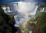 Helicopter flight over Iguazu Falls
