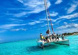 Catamaran Adventure Full Day: Ile aux cerfs,GRSE Waterfall,Snorkeling &BBQ Lunch