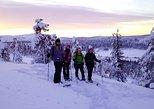 Meditative hike to an Arctic Mountain