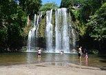 Miravalles Volcano and Waterfalls from Playa Hermosa
