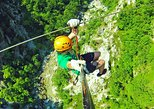 Bovec Zipline - canyon Ucja - the biggest zipline in Europe