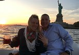 NYC Sunset Marriage Proposal aboard Luxury Powerboat