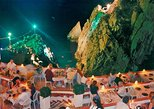 High Cliff Divers Show of La Quebrada at La Perla Restaurant