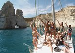 Discover Milos, sailing, snorkelling and cave exploration cruise, in small group