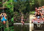 Adrenaline rush with ATV's, Zipline and Cenote in Riviera Maya
