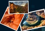 Lower Antelope Canyon& Horseshoe bend& Zion National Park ONE DAY combined tour