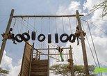 Highropes, Ziplining and wall climbing at the foot of Ngong Hills