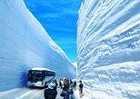 Tateyama Kurobe Alpine Route, Snow Otani Walk, Shirakawago and Hida Takayama