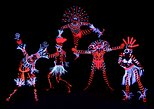 Black Light Theater IMAGE, Exciting Non Verbal Show, Pantomime, Music, Dance