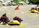 Adventure on Andes Mountain: Rafting, Zipline & Hike