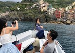 Small Group Sunset Boat Tour Along the Cinque Terre