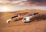 Evening Red Dunes Desert Safari Dubai with Sanboarding Camel ride & BBQ