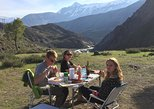CAJON DEL MAIPO MOUNTAIN: SNACK, BREAKFAST & ROAST BEEF PRIVATE TOUR FULL DAY