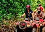 3 adrenaline activities Atvs Zipline and a swim experience in a cenote