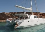 Luxury Catamaran Semi private cruise with meals & drinks and transportation.