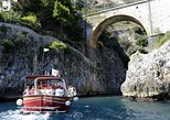 From Salerno: Small Group Amalfi Coast boat tour with stops in Positano & Amalfi