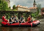 Rafting (4 hours) in Cesky Krumlov, for 4-7 people (from Prague)