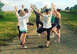 Hiking Yoga Class At Silver Sands Beach