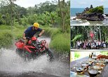 Bali ATV Ride with Monkey Forest and Tanah Lot