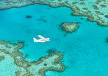 Great Barrier Reef Scenic Flight and Ocean Rafting Whitehaven Beach Day Trip
