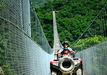 Jorullo Bridge 2 people ATV: $155 USD | Book with $46 USD, the rest at check in!