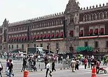 Walking tour in the historic downtown Mexico city