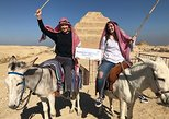 Half day tour to Giza pyramids & the great sphinx with camel ride