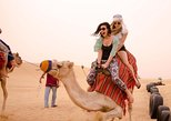 Desert Experience: Camel Safari with Dinner and Egyptian Activities