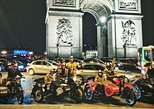 Paris Vintage Tour by Night on a Sidecar with Champagne included (2 Hours)