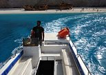 Boat tickets for Blue caves & shipwreck beach with a glass bottom boat