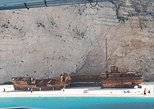 From St Nikolaos port: Boat cruise to navagio shipwreck beach and blue caves