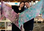 Create a Water Marbled Silk Masterpiece
