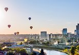 Flug im Heißluftballon über die Altstadt von Vilnius