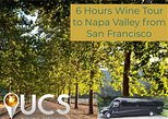 Private 6 Hours Wine Tour Luxury Shuttle Bus To Napa Valley From San Francisco.