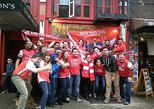 Historical NYC neighborhood tour with a soccer focus, followed by a live match