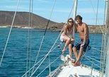 Barco privado al atardecer para parejas desde Corralejo. Fuerteventura, ESPAÑA