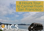 Private 8 Hours Tour To Carmel Luxury Mercedes Sprinter From San Francisco.