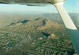 Phoenix, Arizona Mountains Sunset and City Lights Aerial Tour