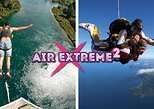 Air Extreme 2 Combo - Bungy Jump and Skydive in Taupo
