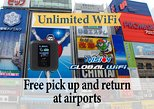 Unlimited WiFi in Japan with Device Pickup at Kansai Airport
