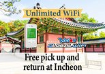 Unlimited WiFi in Korea pick up at Incheon Airport