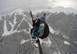We offer tandem paragliding flights during the winter season in Bansko.