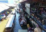 Damnoen Saduak Floating Market with Long-Tail Speedboat Ride