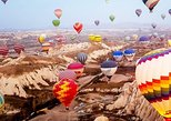Cappadocia Hot-Air Balloon Tour from Istanbul with 1-Night Cave Hotel
