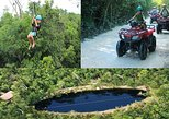 ATVs, Zip-Lines and swim in a Cenote