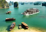 Lan Ha Bay Overnight on boat_ Junior Suite cabin from Hanoi on 5 star Cruise