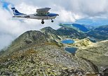 Panoramic flight over Rila Lakes
