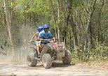 ATV-Xtreme halfday (ATV-ziplines-cenote-rappel-temazcal-drink-snack)