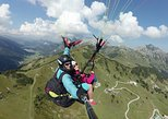 Panorama flight at Hahnenkamm